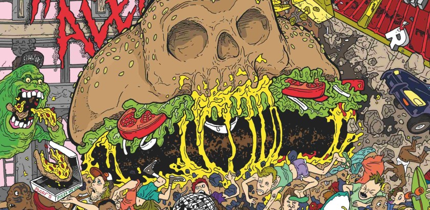 Insanity Alert Moshburger Cover 2500