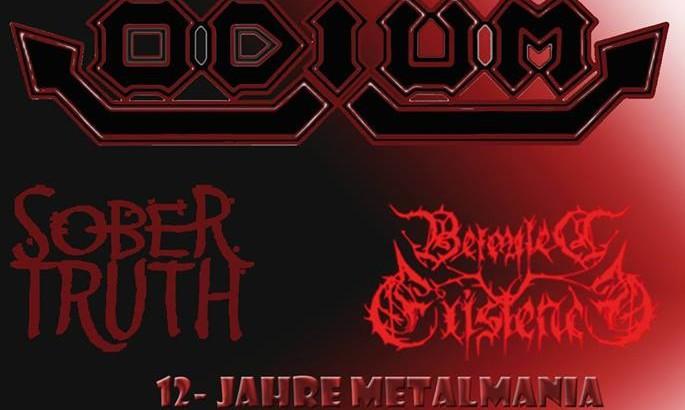 Metalmania Mönchengladbach Sober Truth Live 27.01.18