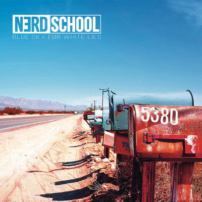 nerd_school_blue_sky_for_white_lies_cover