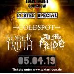 Roster Showcase Taktart - Club Show Bonn 05.04.19 small