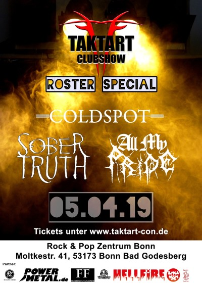 Roster Showcase Taktart - Club Show Bonn 05.04.19 small