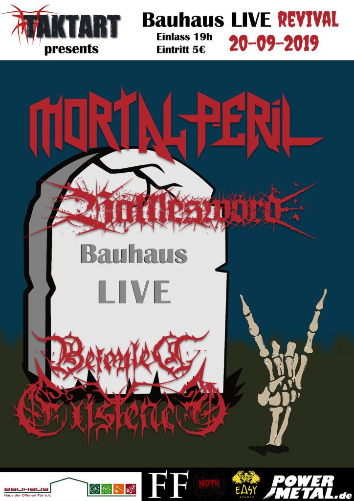 bauhaus Live Revival Edition I - 20.09.19 - Taktartcon